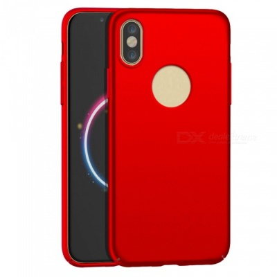 Naxtop PC Hard Protective Back Case for Apple IPHONE X - Red