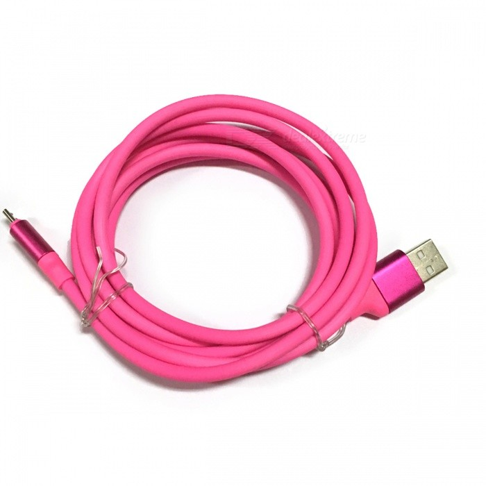 Xiaomi TPE 2m Micro USB to USB 2.0 Charging Data Cable  - Deep PinkCables<br>Form  ColorDark PinkMaterialTPEQuantity1 pieceCompatible ModelsApplicable to Samsung, millet, Huawei, HTC, Lenovo, Meizu and all other micro USB interface with the phone.Cable Length200 cmConnectorUSB to Micro USBPacking List1 x Cable<br>