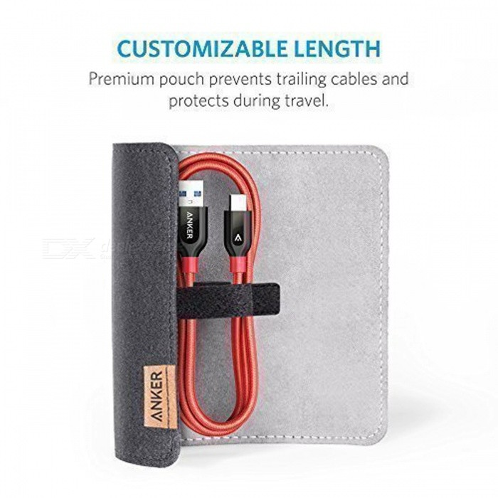 Anker Suede Cable Storage Bag ...