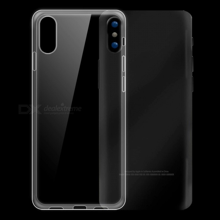 Dayspirit Ultra-dünner TPU Back Case für IPHONE X