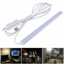 USB 6W White SMD 2835 LED Strip Bar Light Desk Table Lamp - 50CM