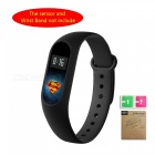 LOPBE HD Protective Film for Xiaomi Miband 2 Bracelet - Superman
