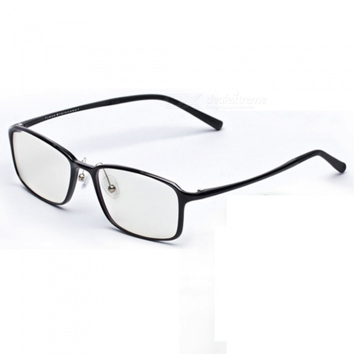 Xiaomi TS Anti-Blue Protective Glasses Sunglasses - BlackSunglasses<br>Frame ColorBlackLens ColorWhiteQuantity1 setShade Of ColorBlackFrame MaterialPELLens MaterialPCProtectionIP1GenderUnisexSuitable forOthers,allFrame Height5.4 cmLens Width0.25 cmBridge Width1.7 cmOverall Width of Frame13.8 cmPacking List1 x Sunglasses1 x Bag1 x Demolition cloth1 x Use precautions<br>
