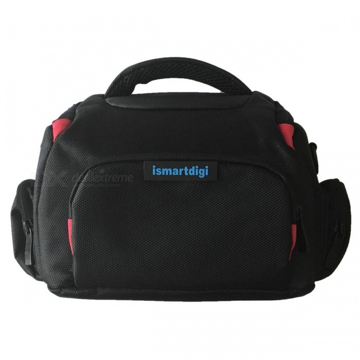 i-B68-M Camera Bag for All DSLR and Mini DSLR DV Cameras - BlackBags and Cases<br>Form  ColorBlackModeli-B68-MShade Of ColorBlackMaterialNylonQuantity1 setCompatible BrandUniversalCompatible ModelsUniversalInner Dimension23x13.5x16 cmDimension28x18x20 cmOther FeaturesStrap length:min.76/Max.136cmPacking List1 x Case<br>