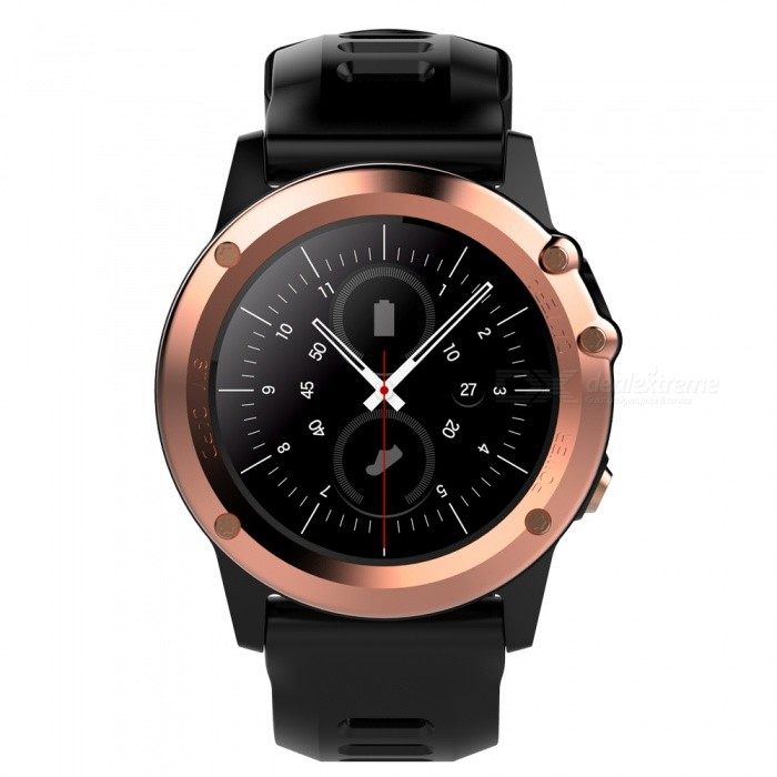 H1 MTK6572 IP68 GPS Wi-Fi 3G Camera Bluetooth Smart Watch - GoldSmart Watches<br>Form  ColorGoldenModelH1Quantity1 DX.PCM.Model.AttributeModel.UnitMaterialStainless steel + TPUShade Of ColorGoldCPU ProcessorMTK6572Screen Size1.39 DX.PCM.Model.AttributeModel.UnitScreen Resolution400*400Network Type2G,3GCellularWCDMA,GSMSIM Card TypeNano SIMBluetooth VersionBluetooth V4.0Operating SystemAndroid 4.4Compatible OSAndroid, IOSLanguageSimplified Chinese, Traditional Chinese, English, German, Spanish, Italian, French, Portuguese-Portugal, Portuguese-Brazilian, Russian, Indonesian, Malay, Polish,<br>Vietnamese, Hebrew, Arabic, Persian, Thai,<br>Burmese, Turkish, Japanese, KoreanWristband Length25.5 DX.PCM.Model.AttributeModel.UnitWater-proofIP68Battery ModeReplacementBattery TypeLi-ion batteryBattery Capacity450 DX.PCM.Model.AttributeModel.UnitStandby Time5-7 DX.PCM.Model.AttributeModel.UnitPacking List1 x Smart Watch1 x Charging Cable1 x Manual<br>
