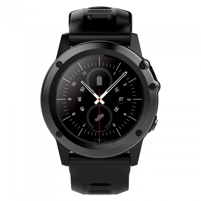 H1 MTK6572 IP68 GPS Wifi 3G Camera Bluetooth Smart Watch - BlackSmart Watches<br>Form  ColorBlackModelH1Quantity1 DX.PCM.Model.AttributeModel.UnitMaterialStainless steel + TPUShade Of ColorBlackCPU ProcessorMTK6572Screen Size1.39 DX.PCM.Model.AttributeModel.UnitScreen Resolution400*400Network Type2G,3GCellularWCDMA,GSMSIM Card TypeNano SIMBluetooth VersionBluetooth V4.0Operating SystemAndroid 4.4Compatible OSAndroid, IOSLanguageSimplified Chinese, Traditional Chinese, English, German, Spanish, Italian, French, Portuguese-Portugal, Portuguese-Brazilian, Russian, Indonesian, Malay, Polish,<br>Vietnamese, Hebrew, Arabic, Persian, Thai,<br>Burmese, Turkish, Japanese, KoreanWristband Length25.5 DX.PCM.Model.AttributeModel.UnitWater-proofIP68Battery ModeReplacementBattery TypeLi-ion batteryBattery Capacity450 DX.PCM.Model.AttributeModel.UnitStandby Time5-7 DX.PCM.Model.AttributeModel.UnitPacking List1 x Smart Watch1 x Charging Cable1 x Manual<br>