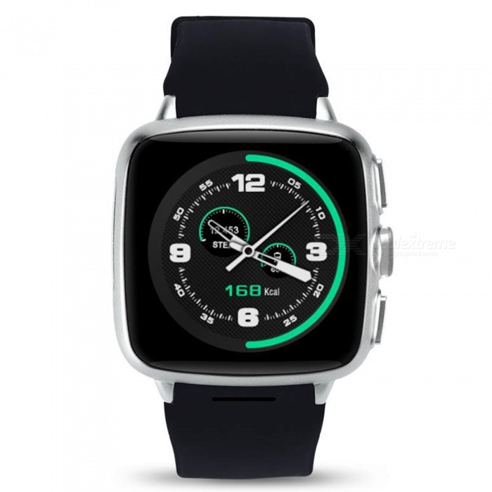 MTK6572 GPS Wi-Fi 3G Camera Bluetooth Smart Watch - SilverSmart Watches<br>Form  ColorSilver (512MB+4GB)Quantity1 DX.PCM.Model.AttributeModel.UnitMaterialStainless Steel + SiliconeShade Of ColorBlackCPU ProcessorMTK6572Screen Size1.54 DX.PCM.Model.AttributeModel.UnitScreen Resolution320*320 PixelTouch Screen TypeCapacitive ScreenNetwork Type2G,3GCellularWCDMA,GSMBluetooth VersionBluetooth V4.0Operating SystemAndroid 5.1Compatible OSAndroid, IOSLanguageIndonesian, Malay ,German ,English, Spanish ,French ,Italian, Dutch ,Portuguese ,Vietnamese ,Turkish ,Russian ,Arabic ,ThailandWristband Length30 DX.PCM.Model.AttributeModel.UnitWater-proofOthers,Life WaterproofBattery ModeReplacementBattery TypeLi-ion batteryBattery Capacity600 DX.PCM.Model.AttributeModel.UnitStandby Time3 DX.PCM.Model.AttributeModel.UnitPacking List1 x Smart Watch1 x User Manual1 x Charging Clip<br>