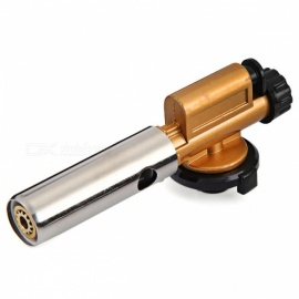 Electronic Ignition Copper Flame Butane Gas Burners Lighter