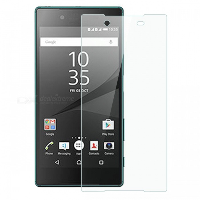 Dayspirit Tempered Glass Screen Protector for Sony Xperia Z5Screen Protectors<br>Form  ColorTransparentScreen TypeGlossyModelN/AMaterialTempered glassQuantity1 DX.PCM.Model.AttributeModel.UnitCompatible ModelsSony Xperia Z5FeaturesTempered glassPacking List1 x Tempered glass screen protector1 x Dust cleaning film 1 x Alcohol prep pad<br>