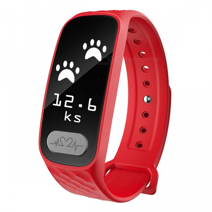 Eastor B20 ECG Heart Rate Blood Pressure Monitor Smart Band - RedSmart Bracelets<br>Form  ColorRedModelB20Quantity1 pieceMaterialPlasticShade Of ColorRedWater-proofIP67Bluetooth VersionBluetooth V4.0Touch Screen TypeOthers,OLEDCompatible OSAndroid, IOSBattery Capacity80 mAhBattery TypeLi-ion batteryStandby Time7 daysPacking List1 x Smart Wristband1 x User manual<br>