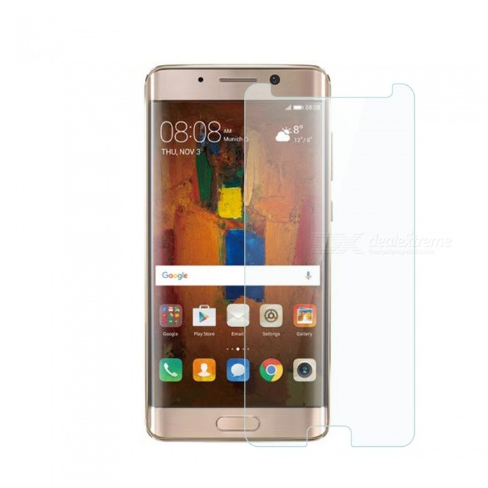 Dayspirit Tempered Glass Screen Protector for Huawei Mate 9 ProScreen Protectors<br>Form  ColorTransparentScreen TypeGlossyModelN/AMaterialTempered glassQuantity1 DX.PCM.Model.AttributeModel.UnitCompatible ModelsHuawei Mate 9 ProFeaturesTempered glassPacking List1 x Tempered glass screen protector1 x Dust cleaning film 1 x Alcohol prep pad<br>