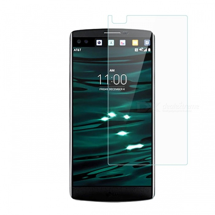 Dayspirit Tempered Glass Screen Protector for LG V10Screen Protectors<br>Form  ColorTransparentScreen TypeGlossyModelN/AMaterialTempered glassQuantity1 pieceCompatible ModelsLG V10FeaturesTempered glassPacking List1 x Tempered glass screen protector1 x Dust cleaning film 1 x Alcohol prep pad<br>