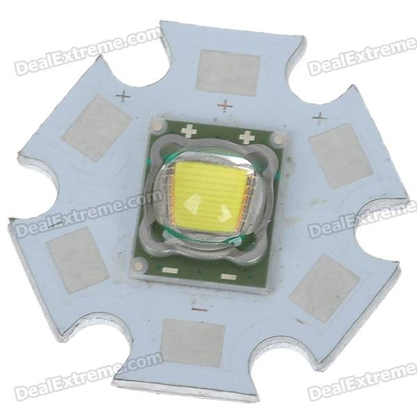 SST-50 1200LM LED Emitter 8000K White Light Bulb (4.2V)