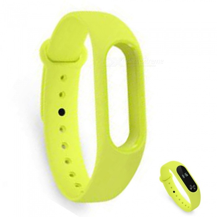 Xiaomi Miband 2 Original Strap Wristband - GreenWearable Device Accessories<br>Form  ColorGreenModelxmwd01hmQuantity1 DX.PCM.Model.AttributeModel.UnitMaterialTPEPacking List1 x Wristband1 x Card introduction<br>