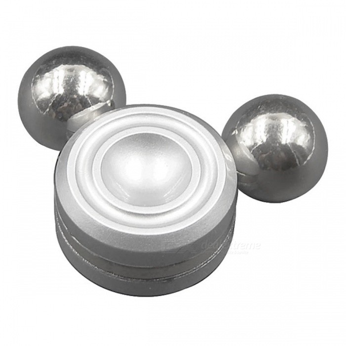 Artificial Satellite Magnetic Gyroscope Fidget Hand Spinner - SilverFinger Toys<br>Form  ColorSilverMaterialMetalQuantity1 pieceSuitable Age 8-11 years,12-15 years,Grown upsPacking List1 x Fidget Hand Spinner<br>