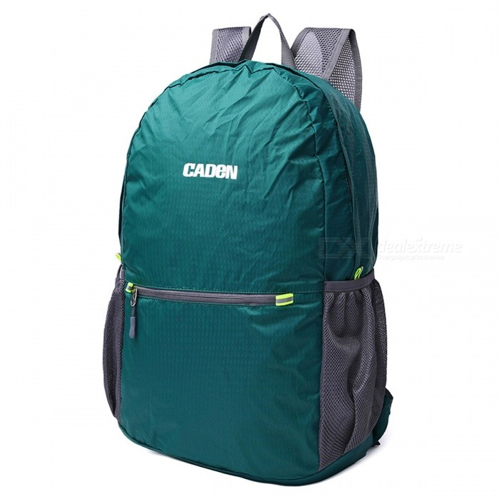 CADEN H6 Outdoor Lightweight Foldable Bag Backpack - GreenForm  ColorGreenBrandOthers,Others,CADENModelH6Quantity1 pieceMaterialNylonTypeHiking &amp; CampingGear Capacity20 LCapacity Range20L~40LRaincover includedNoBest UseRunning,Climbing,Travel,CyclingTypeHiking DaypacksPacking List1 x Backbag<br>