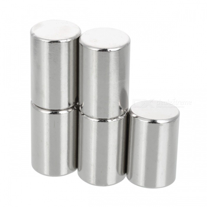 D20*30MM Cylindrical NdFeB Magnet - Silver (5PCS)Magnets Gadgets<br>Form  ColorSilverQuantity5 DX.PCM.Model.AttributeModel.UnitNumber5MaterialNdFeBSuitable Age Grown upsPacking List5 x Magnets<br>