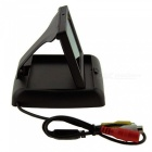 "ET-438 Foldable 4.3"" TFT LCD Digital Monitor for Vehicle Parking Reverse Camera (NTSC/PAL 12V DC)"
