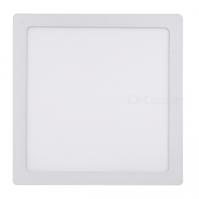 18W 600lm 3000K LED Warm White Square Panel Light (AC220~240V)