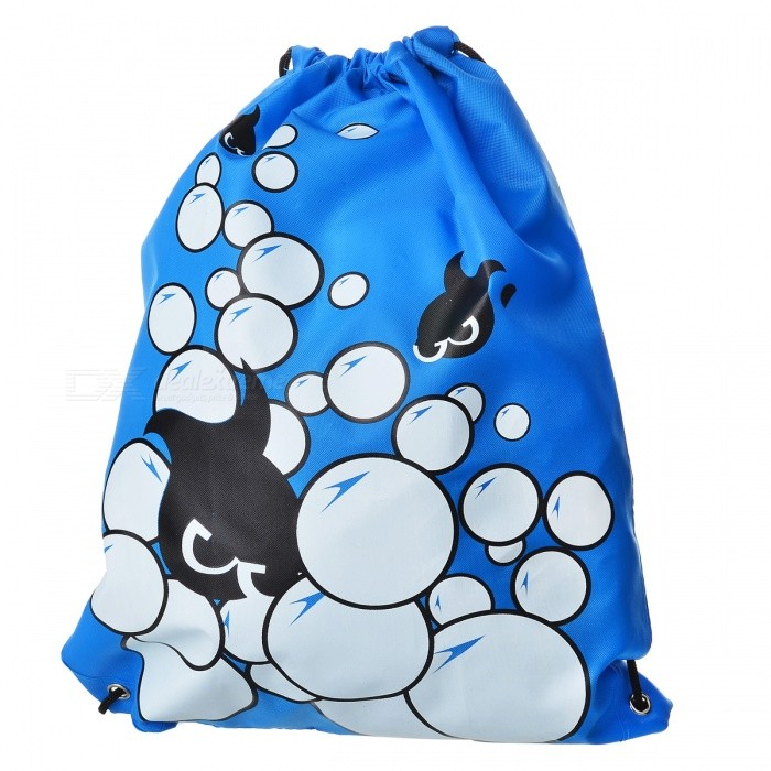 Lightweight Foldable Polyester Fiber Drawstring Backpack Bag - BlueForm  ColorBlueBrandOthers,Others,N/AModel02Quantity1 pieceMaterialPolyester fiberTypeDaypackGear Capacity3 LCapacity Range0L~20LRaincover includedNoPacking List1 x Bag<br>