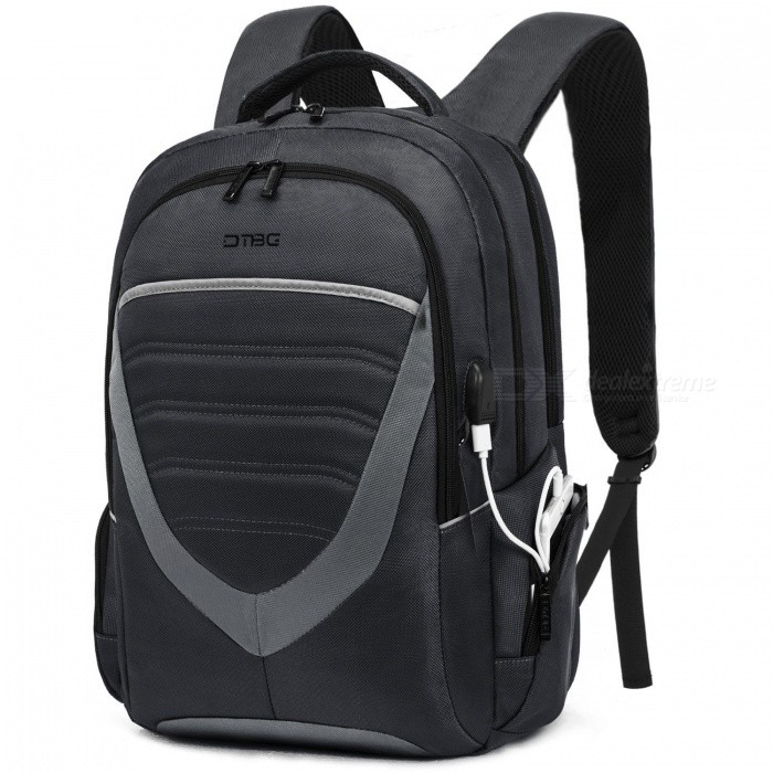 DTBG D8006W 15.6 Inch Laptop Storage Backpack with USB2.0 Port - BlackBags and Pouches<br>Form  ColorBlackModelD8006WQuantity1 DX.PCM.Model.AttributeModel.UnitShade Of ColorBlackMaterialNylonCompatible Size15.6 inchTypeBackpacks,Tote BagsPacking List1 x Backpack<br>