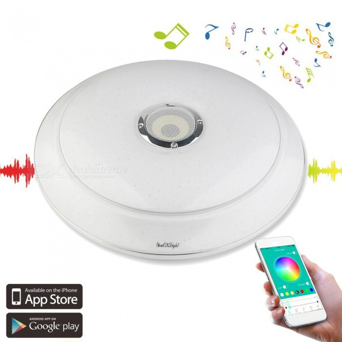 YouOKLight 36W Multicolor Bluetooth Music Ceiling Lamp w / APP Control