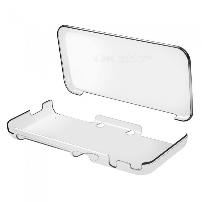Kitbon Ultra Clear Crystal Transparent Case for Nintendo New 2DS XL LLCases &amp; Pouches<br>Form  ColorTransparentQuantity1 pieceMaterialPCShade Of ColorTransparentCompatible ModelsOthers,2017 Nintendo New 2DS XL/LLTypeBack CoversPacking List1 x Case<br>