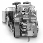 Monteringsmodell Bulldozer DIY 3D Pussel-silver