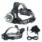 ZHAOYAO K11 XM-L T6 Waterproof 3-Mode White Light Headlamp - Silver