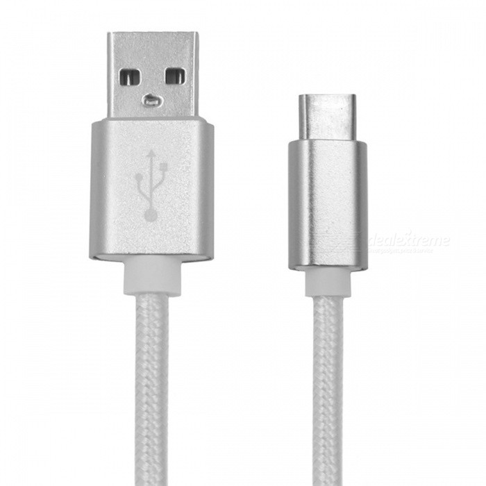 20cm Type-C Data Charging Cable for Samsung Galaxy S8, S8 Plus -SilverCables<br>Form  ColorSilverModelN/AMaterialABSQuantity1 DX.PCM.Model.AttributeModel.UnitCompatible ModelsSamsung Galaxy S8 / S8 PlusCable Length20 DX.PCM.Model.AttributeModel.UnitConnectorUSB Type-C 3.1Packing List1 x Cable<br>