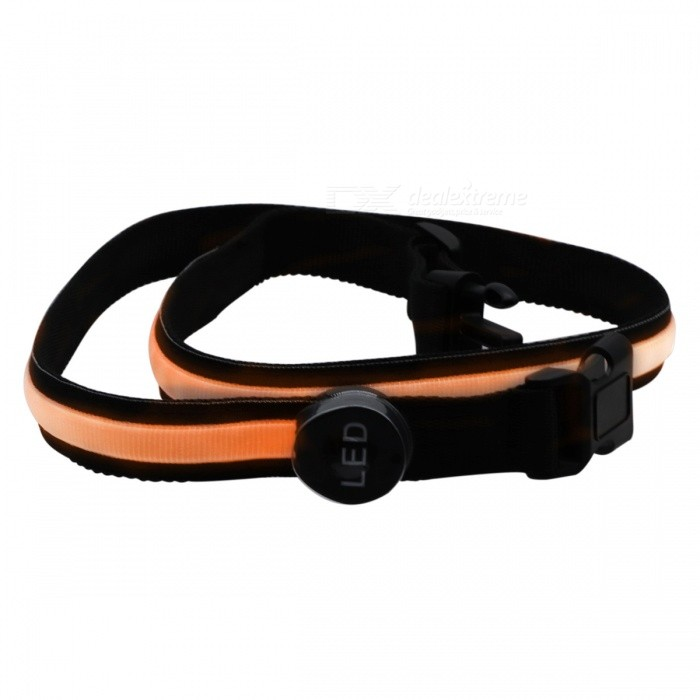 YWXLight USB LED Runing Warning Luminous Safety Waistband - OrangeLED Nightlights<br>Form  ColorOrangeMaterialPCQuantity1 DX.PCM.Model.AttributeModel.UnitPower3WRated VoltageOthers,DC 5 DX.PCM.Model.AttributeModel.UnitConnector TypeOthers,USBColor BINOrangeEmitter TypeLEDTotal Emitters1Theoretical Lumens300-400 DX.PCM.Model.AttributeModel.UnitActual Lumens200-300 DX.PCM.Model.AttributeModel.UnitColor Temperature12000K,OthersDimmableYesBeam Angle180 DX.PCM.Model.AttributeModel.UnitInstallation TypeOthersPacking List1 x YWXLight LED Luminous Waistband1 x USB cable<br>