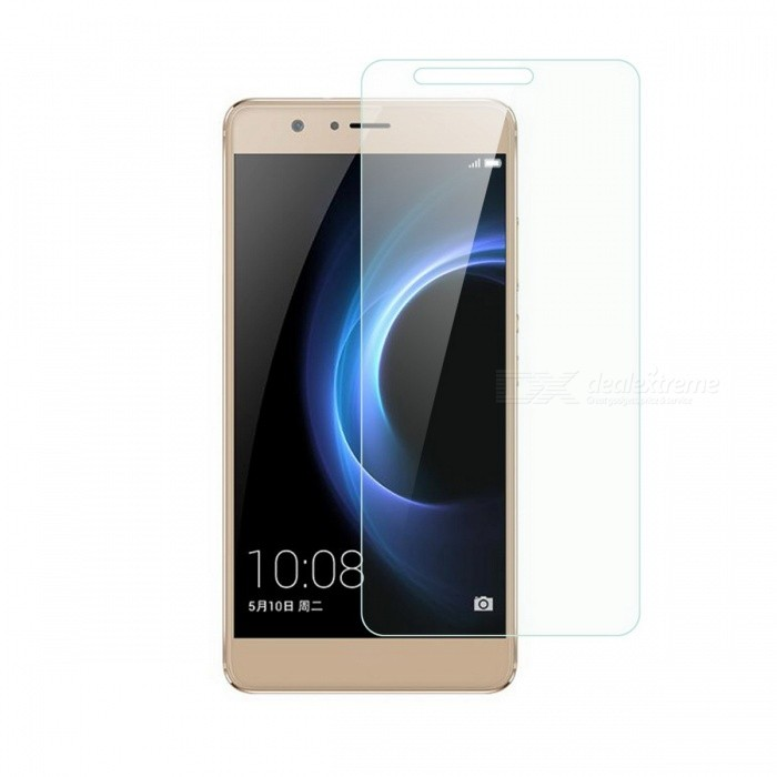 Dayspirit Tempered Glass Screen Protector for Huawei Honor V8Screen Protectors<br>Form  ColorTransparentScreen TypeGlossyModelN/AMaterialTempered glassQuantity1 pieceCompatible ModelsHuawei Honor V8FeaturesTempered glassPacking List1 x Tempered glass screen protector1 x Dust cleaning film 1 x Alcohol prep pad<br>