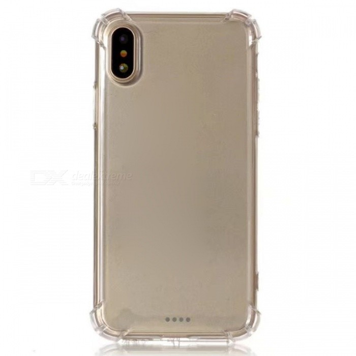 Protective Shock-Resistant TPU Case for IPHONE X - Transparent WhiteTPU Cases<br>Form  ColorTranslucent WhiteModelN/AQuantity1 DX.PCM.Model.AttributeModel.UnitMaterialTPUCompatible ModelsOthers,IPHONE XDesignSolid ColorStyleBack CasesPacking List1 x Case<br>