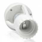 E27 LED Lamp Base 60W PIR Induction Infrared Motion Sensor - White