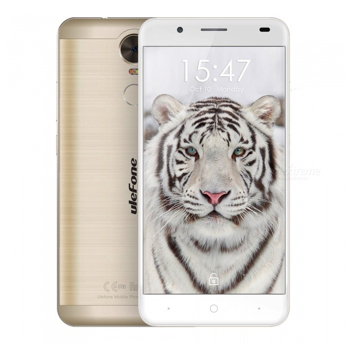 "Ulefone Tiger Lite 5.5"" Android 6.0 Phone w/ 1GB RAM / 16GB ROM - Gold"