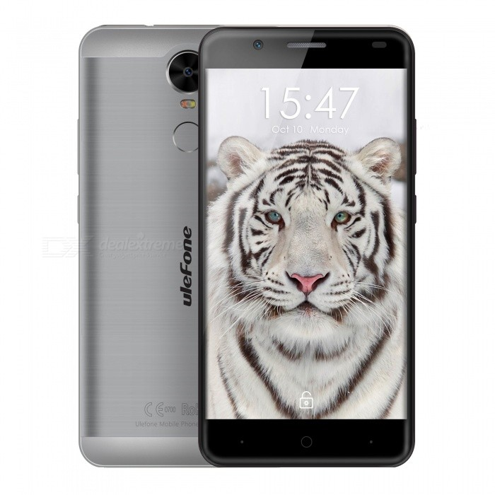 "Ulefone Tiger Lite 5.5"" Android 6.0 Phone w/ 1GB RAM / 16GB ROM - Gray"