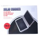 Dual Ports Solar Powered Self-Recharging USB Battery (with Cell Phone Adapters)