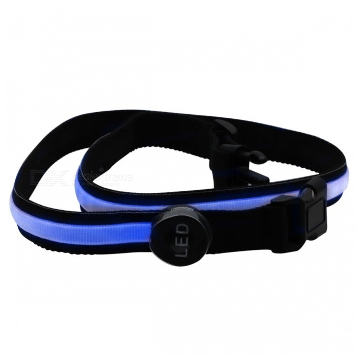 YWXLight USB LED Runing Warning Luminous Safety Waistband - BlueLED Nightlights<br>Form  ColorBlueMaterialNylonQuantity1 DX.PCM.Model.AttributeModel.UnitPower3WRated VoltageOthers,DC 5 DX.PCM.Model.AttributeModel.UnitConnector TypeOthers,USBColor BINBlueEmitter TypeLEDTotal Emitters1Theoretical Lumens300-400 DX.PCM.Model.AttributeModel.UnitActual Lumens200-300 DX.PCM.Model.AttributeModel.UnitColor Temperature12000K,OthersDimmableYesBeam Angle180 DX.PCM.Model.AttributeModel.UnitInstallation TypeOthersPacking List1 x YWXLight LED Luminous Waistband1 x USB Cable<br>