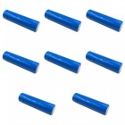 ZHAOYAO 8Pcs LC 3.7V Blue 18650 3000mAh Rechargeable Lithium Battery