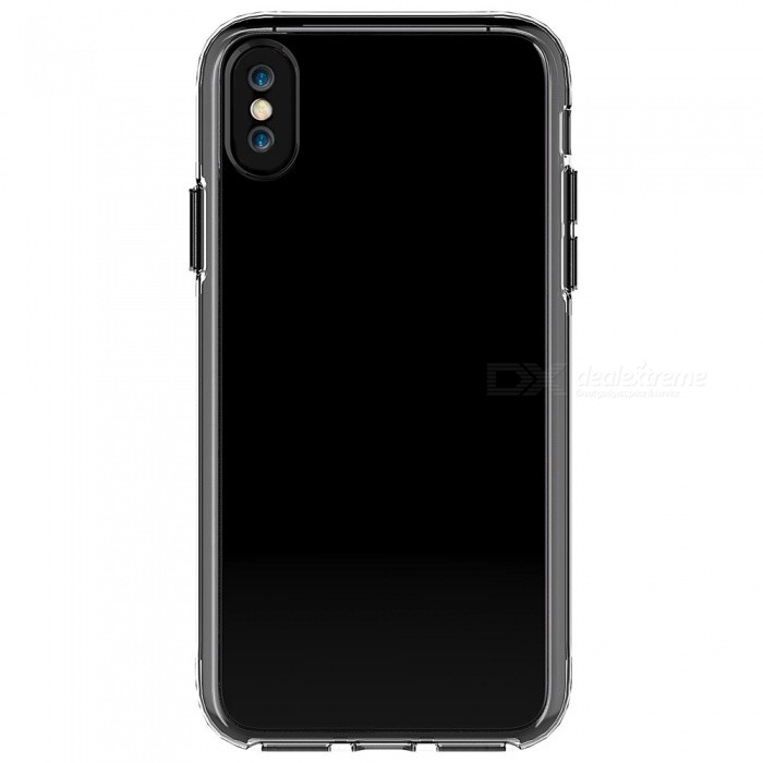 buy online 98751 3a7b6 Adeline Ultra-Thin TPU PC Back Cover Case for IPHONE X - Transparent