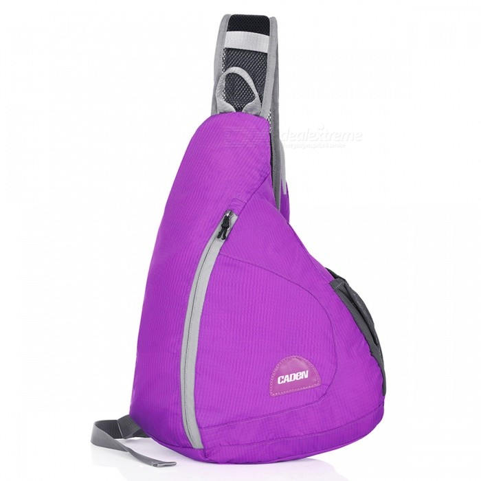 CADEN H5 Outdoor Foldable Water Resistant Shoulder Bag - PurpleForm  ColorPurpleBrandOthers,Others,CADENModelH5Quantity1 pieceMaterialNylonTypeHiking &amp; CampingGear Capacity15 LCapacity Range0L~20LFrame TypeExternalNumber of exterior pockets3Raincover includedNoBest UseSwimming,Running,Climbing,Family &amp; car camping,Mountaineering,Travel,CyclingTypeHiking DaypacksPacking List1 x Backpack<br>