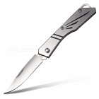 CTSmart Outdoor Mini Personality Folding Knife - Silver