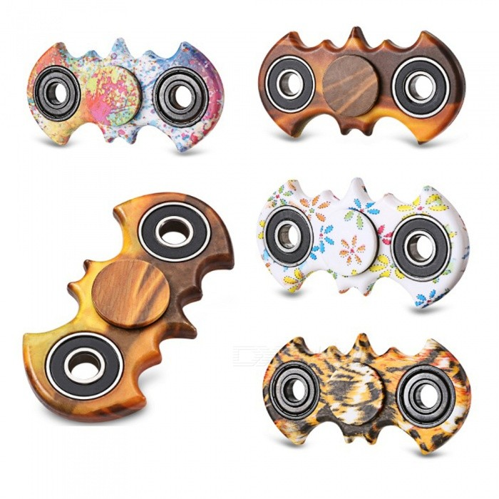 Stress Relief Fidget Toy Hand Spinner Gyro - Random Color (4 PCS)Finger Toys<br>Form  ColorRandom ColorMaterialABSQuantity4 piecesSuitable Age 8-11 years,12-15 years,Grown upsPacking List4 x Hand Spinners<br>