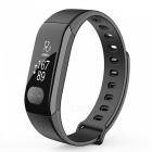 Ravi ECG Heart Rate Blood Pressure Monitor Smart Bracelet - Black