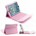 """Bluetooth Keyboard PU Case for IPAD Air, Air 2, PRO 9.7"""" - Pink"""