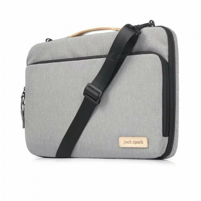 Maikou Protective Bag for 11.6 Laptop - GreyBags and Pouches<br>Form  ColorGreyQuantity1 DX.PCM.Model.AttributeModel.UnitShade Of ColorGrayMaterialNylon +VelveteenCompatible Size11.6 inchTypeMessengers,Others,Shoulder BagPacking List1 x Bag<br>