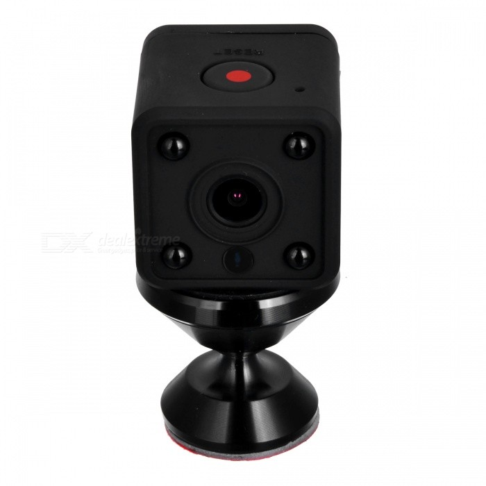 P-TOP HDQ9 1080P HD Mini Small Wi-Fi IP Camera - Black (US Plug)IP Cameras<br>Form  ColorBlackPower AdapterUS PlugModelHDQ9MaterialABSQuantity1 DX.PCM.Model.AttributeModel.UnitImage SensorCMOSPixels1080P (Full-HD)Viewing Angle120 DX.PCM.Model.AttributeModel.UnitVideo Compressed FormatH.264Picture Resolution1920*1080Night VisionYesIR-LED Quantity4Night Vision Distance10 DX.PCM.Model.AttributeModel.UnitWireless / WiFi802.11 b / g / nSupported SystemsWindows 2000,2003,XP,Vista,Others,MAC OS 10.4Supported BrowserIE 6.0 and aboveSIM Card SlotStandard SIM CardOnline Visitor4Mobile Phone PlatformAndroid,iOSFree DDNSYesBuilt-in Memory / RAMNoLocal MemoryYesMemory CardTF CardMax. Memory Supported64GBSupported LanguagesEnglishRate VoltageDC-5VIntercom FunctionNoForm  ColorBlackPower AdapterUS PlugPacking List1 * Camera1 * USB Cable 1* Charger<br>