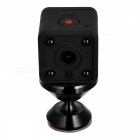 P-TOP HDQ9 1080P HD Mini Small Wi-Fi IP Camera - Black (US Plug)