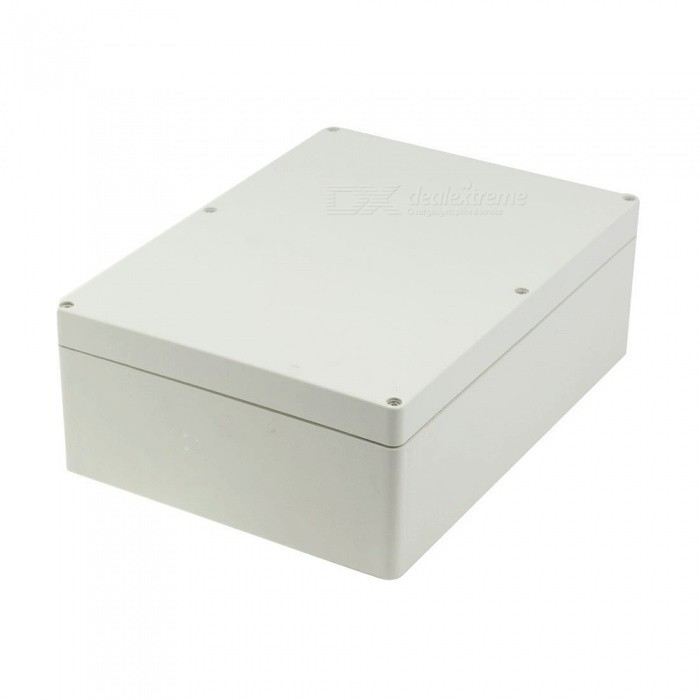 290 x 210 x 100mm Plastic Waterproof Junction Box Housing - GreyDIY Parts &amp; Components<br>Form  ColorGrey (290*210*100mm)Quantity1 pieceMaterialPlasticEnglish Manual / SpecNoCertificationNoPacking List1 x Junction Box<br>