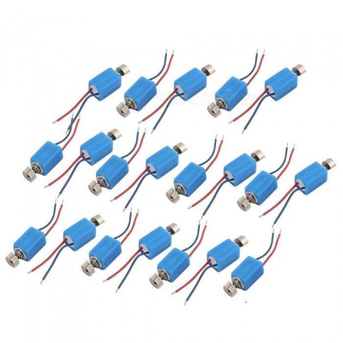 Vibration Pager Vibrating Vibrator Micro DC Motors - Blue (20 PCS)